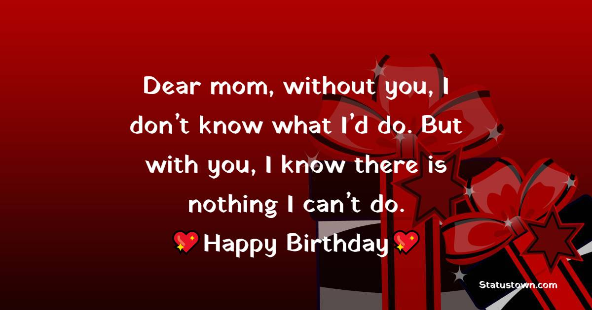 meaningful Birthday Wishes for Mother
