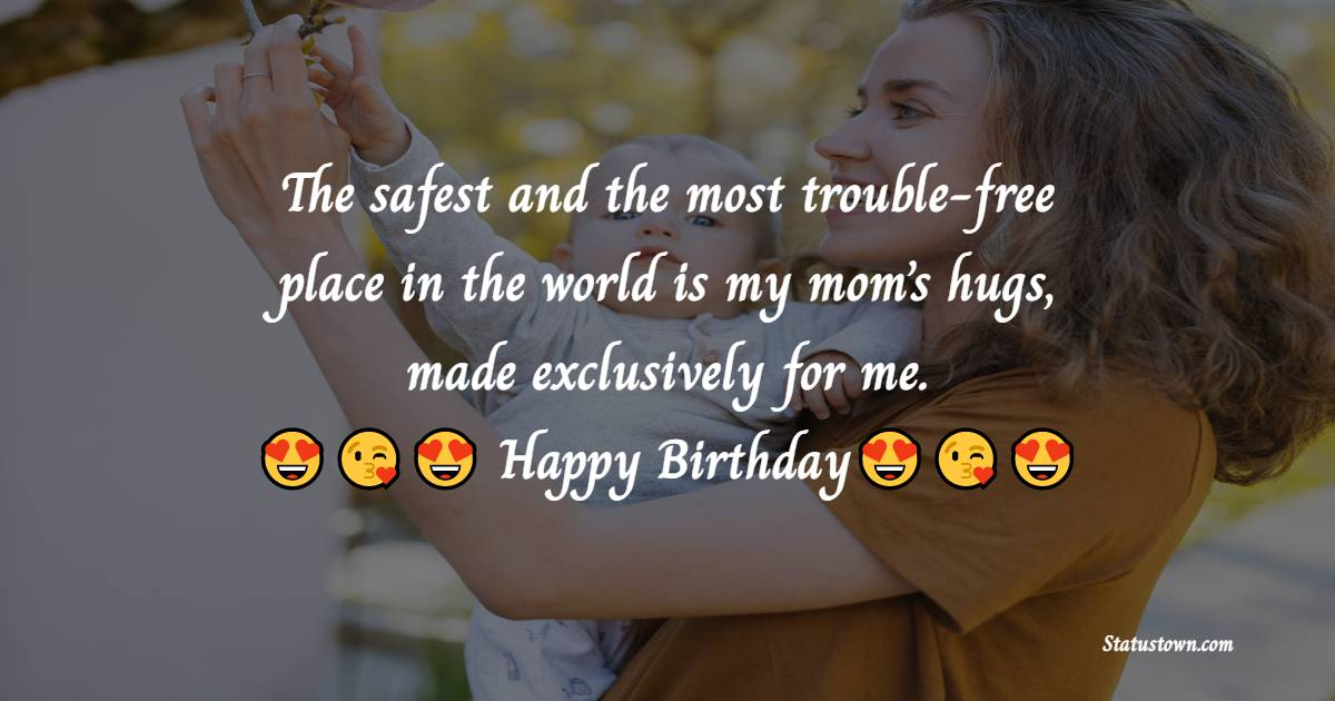 Touching Birthday Wishes for Mother