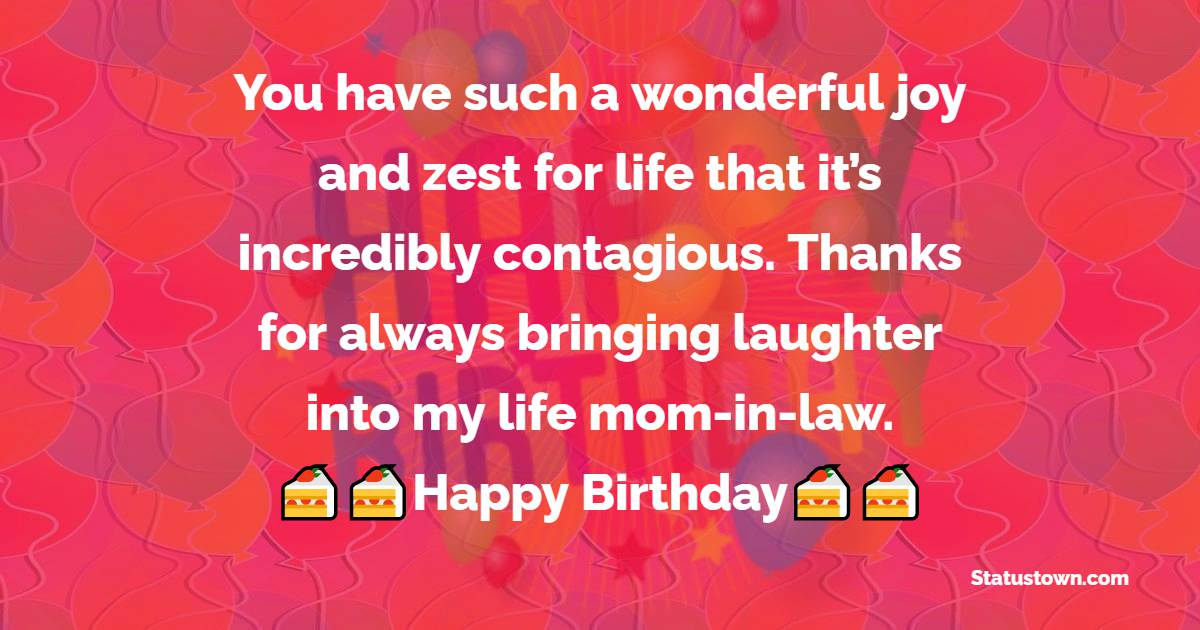 Sweet Birthday Wishes for Mother in Law