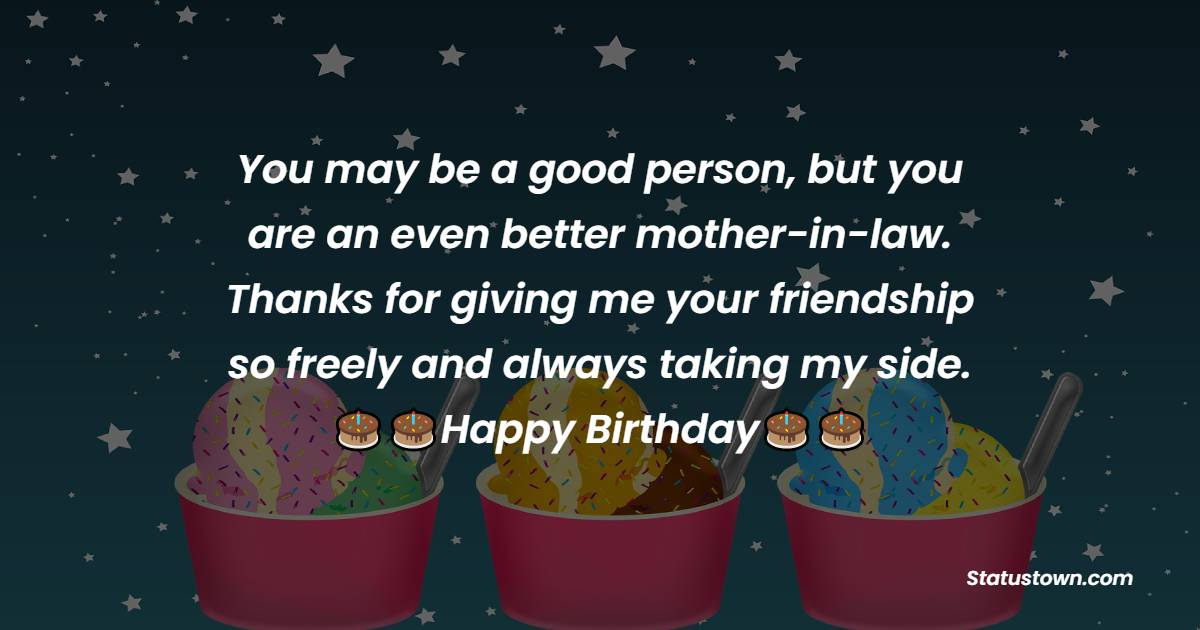 Amazing Birthday Wishes for Mother in Law