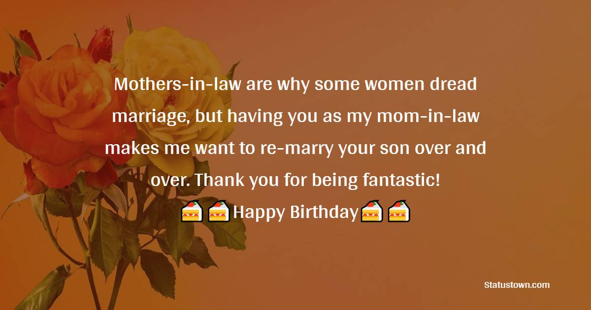 Best Birthday Wishes for Mother in Law