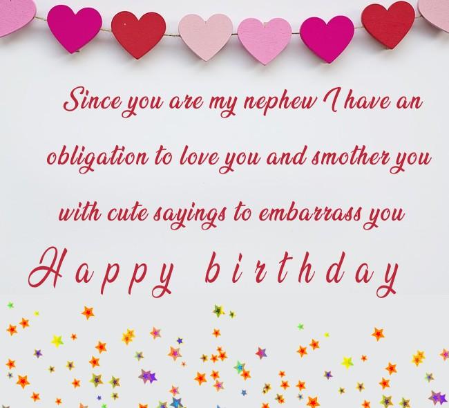 Touching Birthday Wishes for Nephew