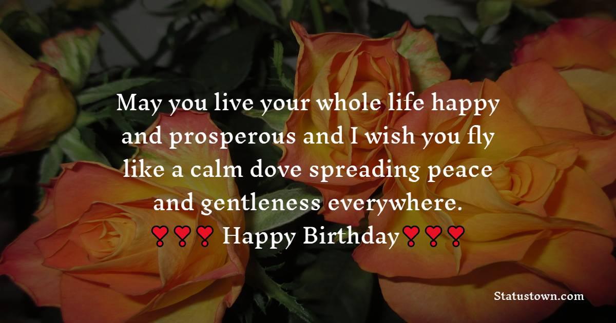 Amazing Birthday Wishes for Niece