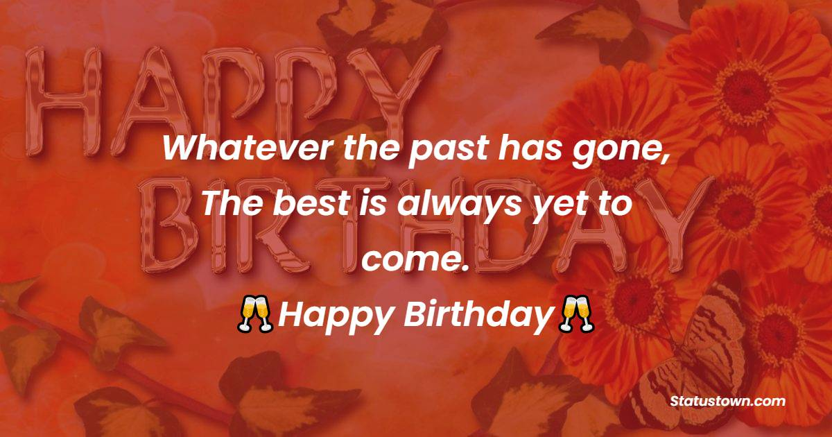 Amazing Happy Birthday Wishes