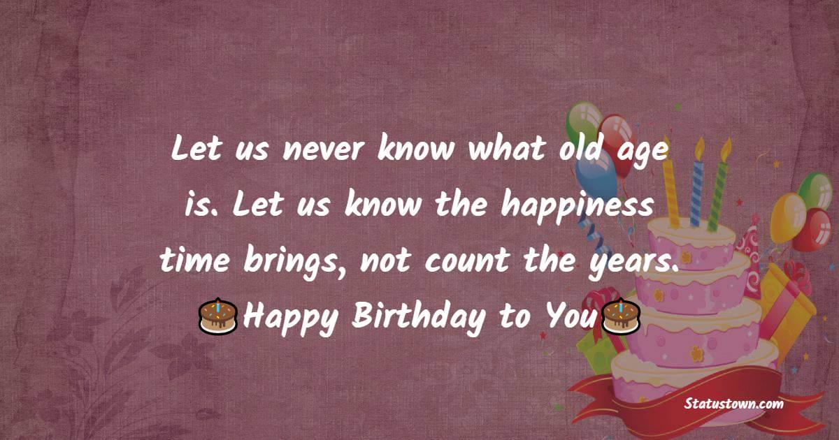 Touching Happy Birthday Wishes
