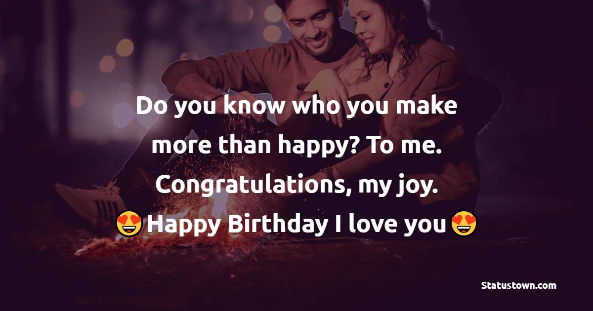 Sweet Romantic Birthday Wishes