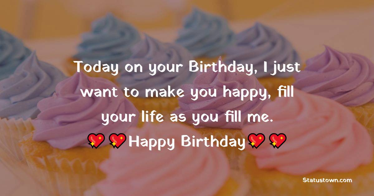 Amazing Romantic Birthday Wishes