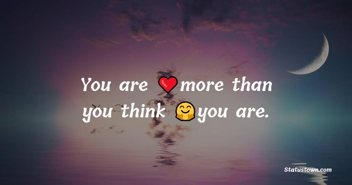 Best believe in yourself messages