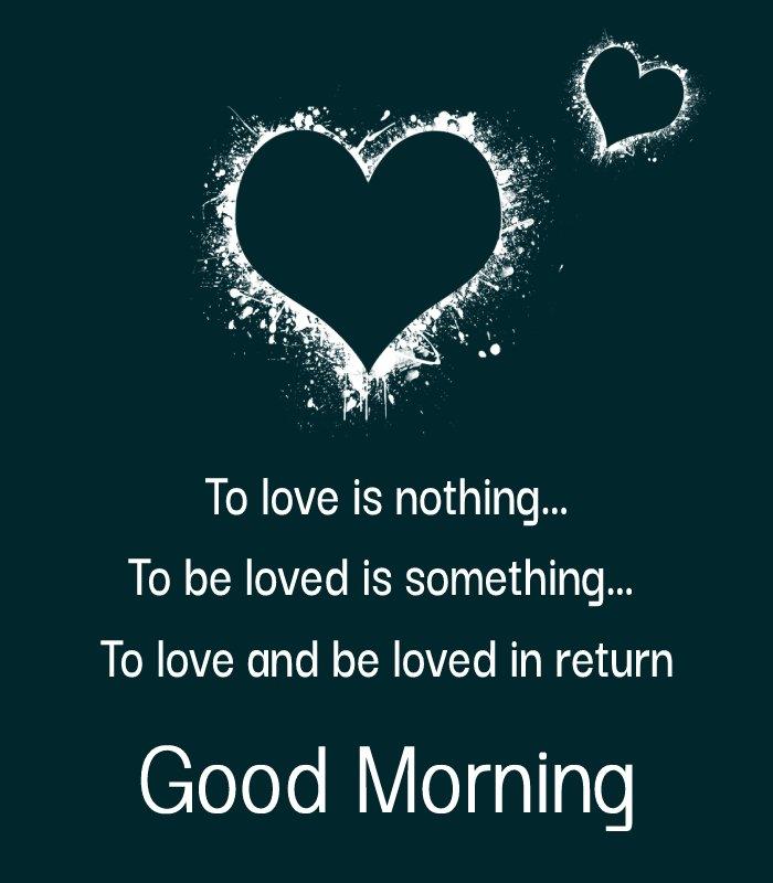 Deep good morning love messages