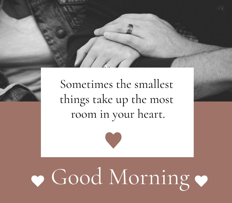 Simple good morning love messages
