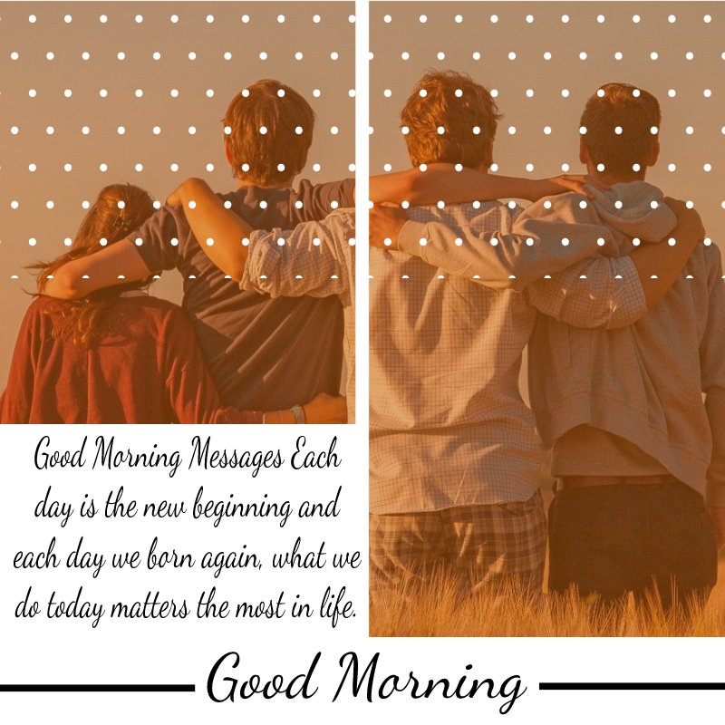 Heart Touching good morning message for friends