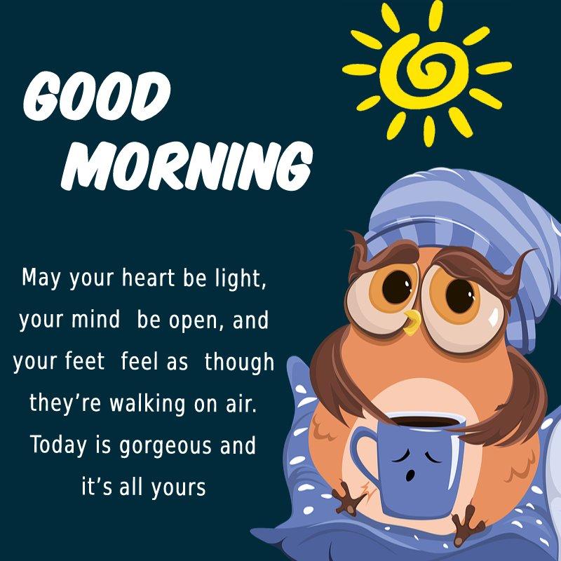 Deep good morning message for friends