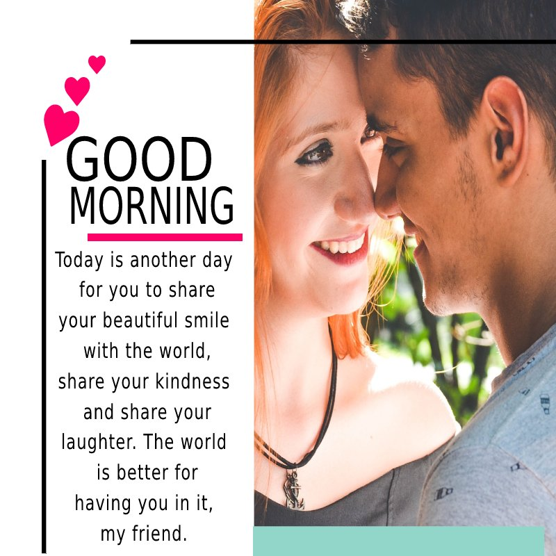 Unique good morning message for friends