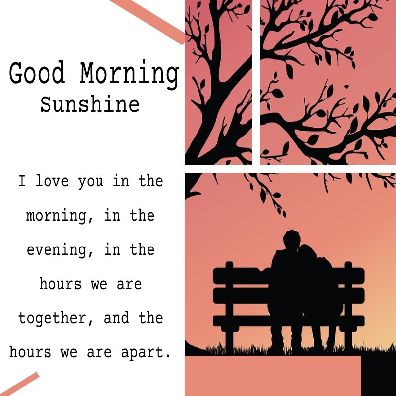 meaningful good morning message for husband