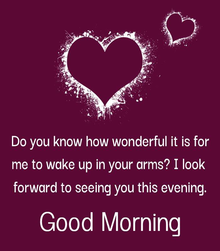 Deep good morning message for husband