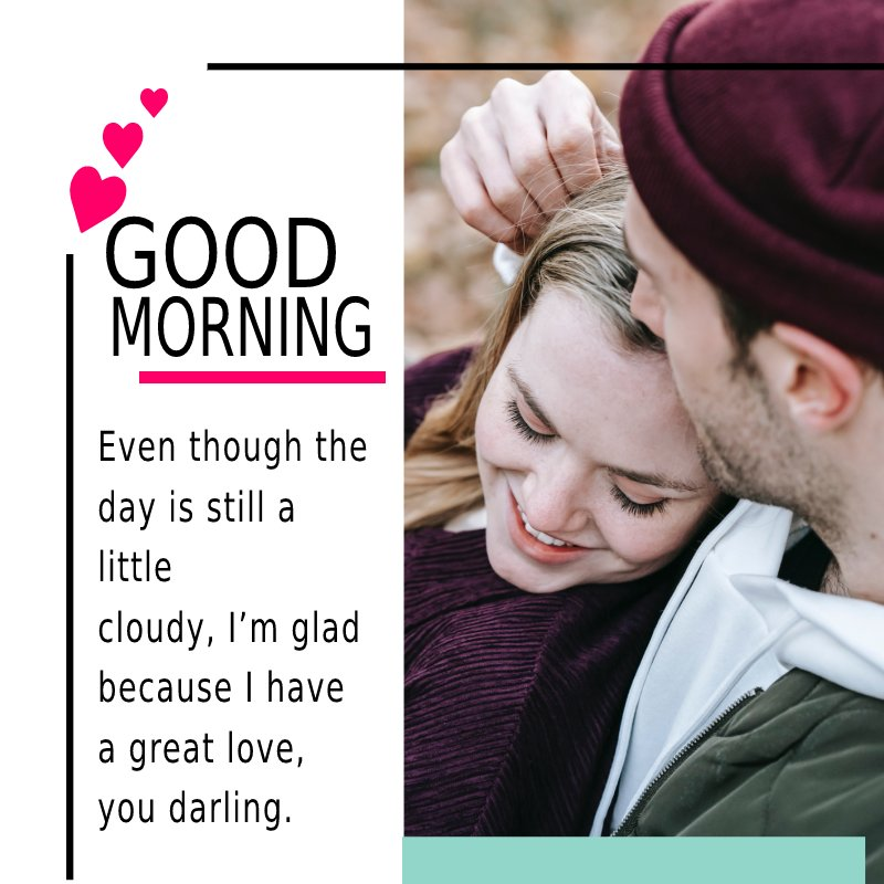 Touching good morning messages for boyfriend
