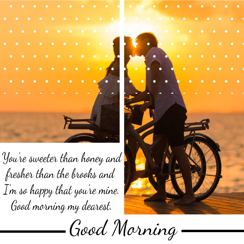 Sweet good morning messages for boyfriend