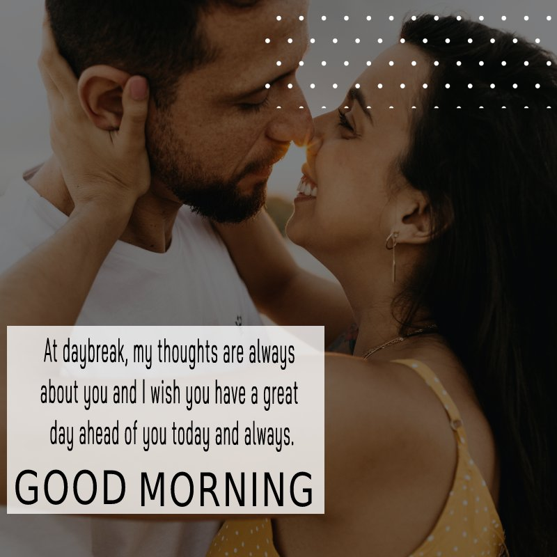 Simple good morning messages for boyfriend