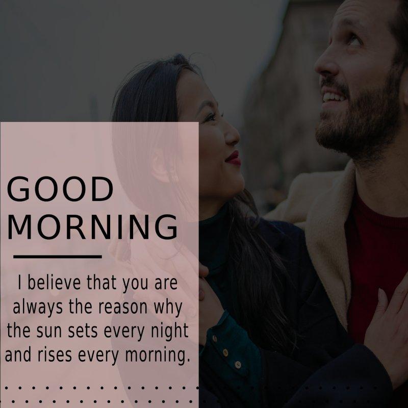Short good morning messages for boyfriend