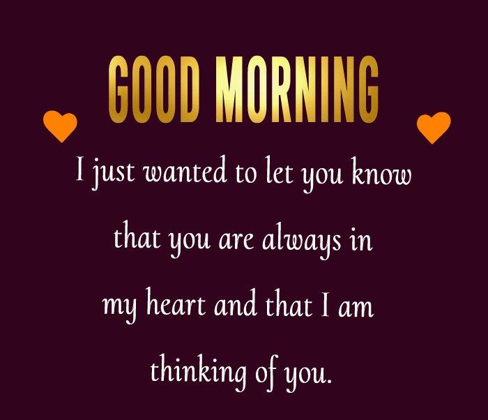 Deep good morning messages for girlfriend