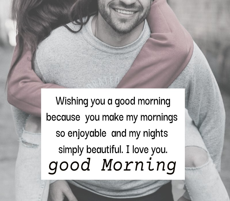 Amazing good morning messages for girlfriend