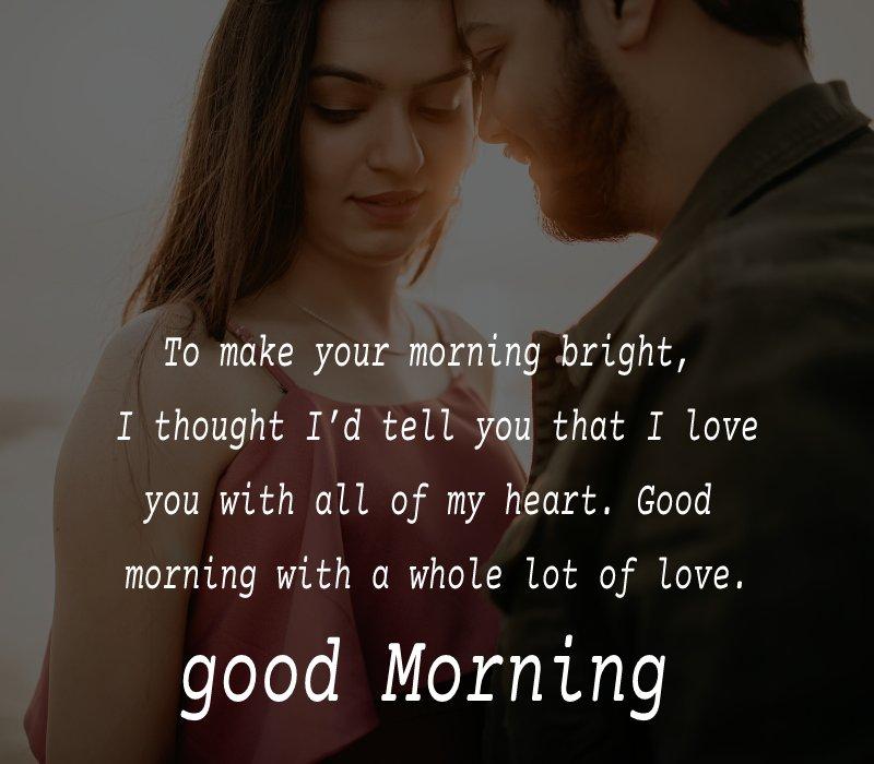 Short good morning messages for girlfriend