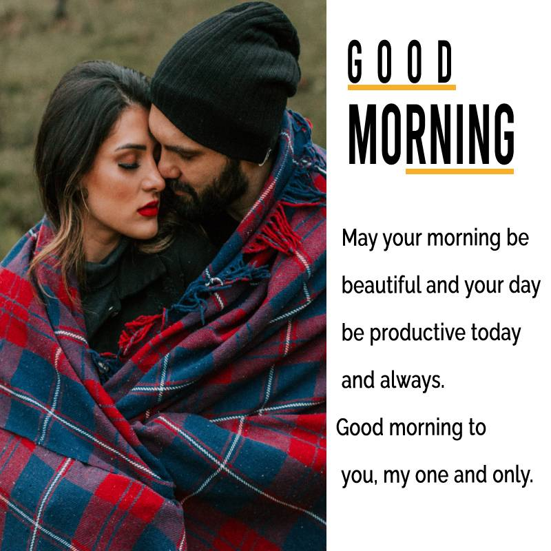 Sweet good morning messages for wife