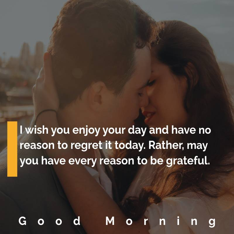 Unique good morning messages for wife
