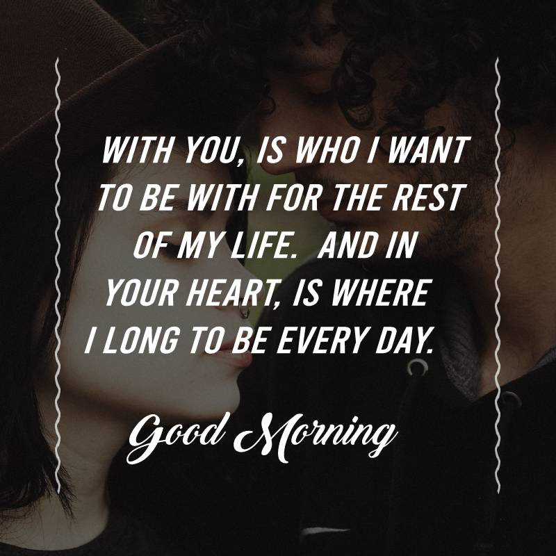 Short good morning messages for wife