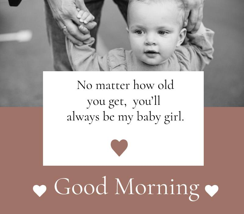 Best good morning messages for daughter
