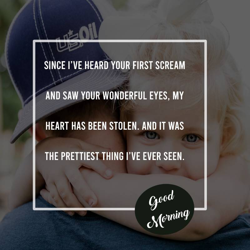 Simple good morning messages for daughter