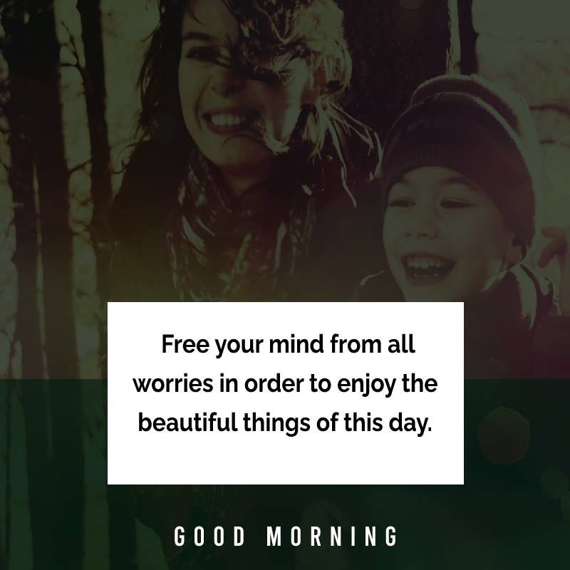 Short good morning messages for mom