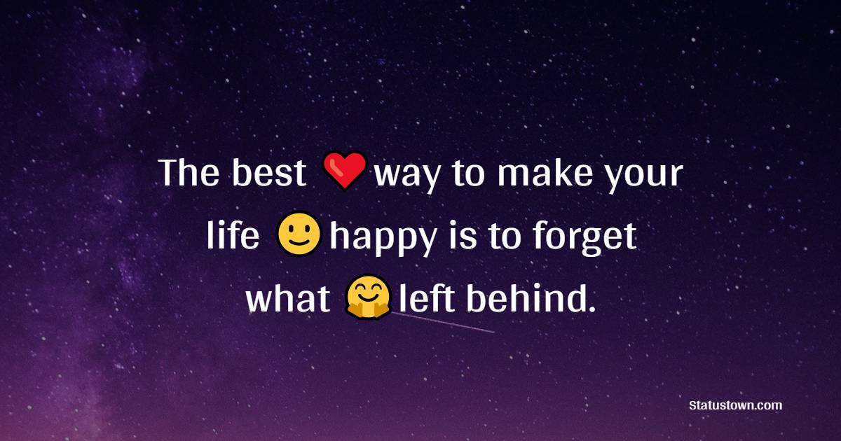 Touching happiness messages