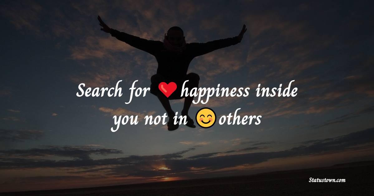 Unique happiness messages