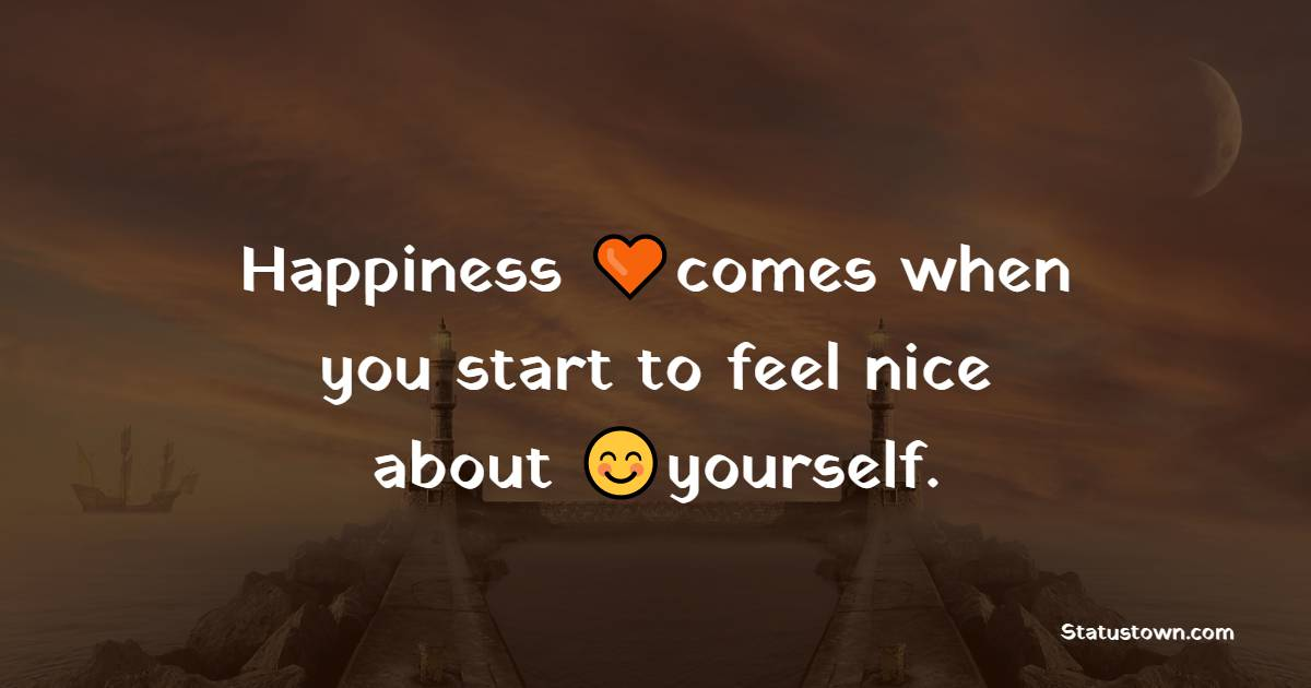 Simple happiness messages
