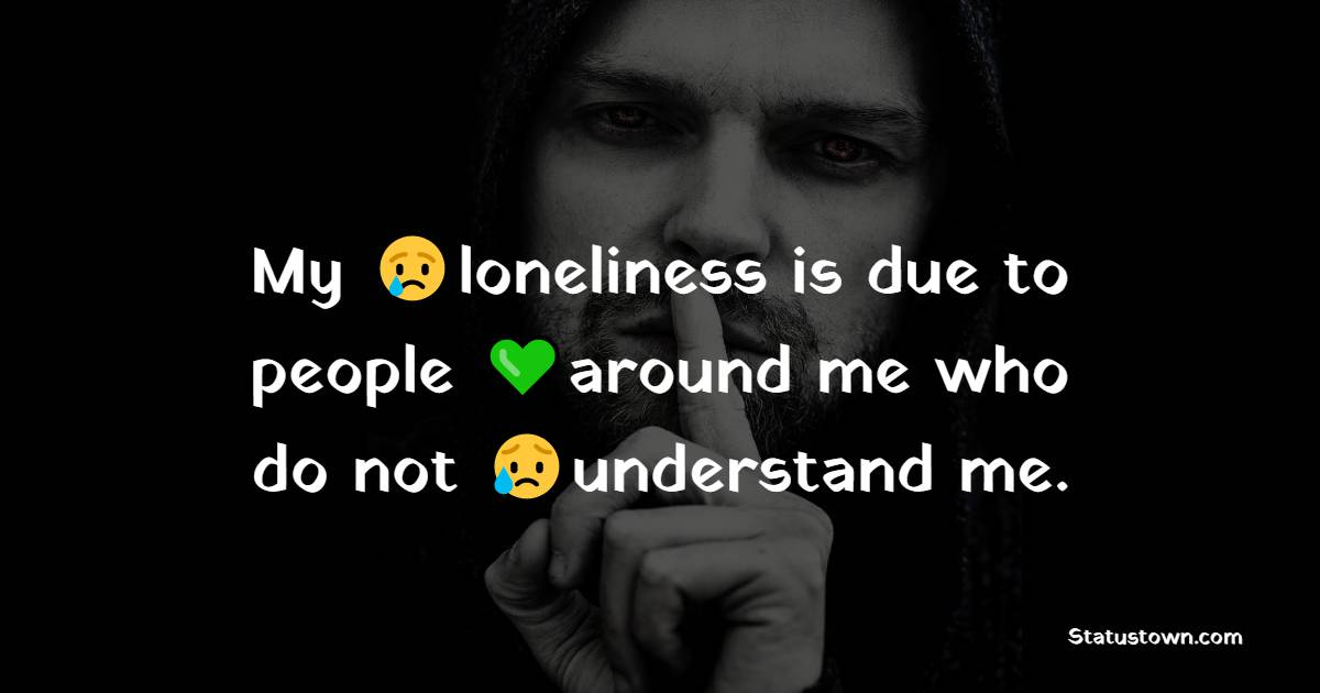 Touching loneliness quotes
