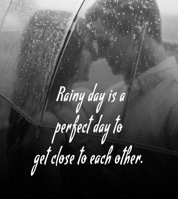 Unique rain status