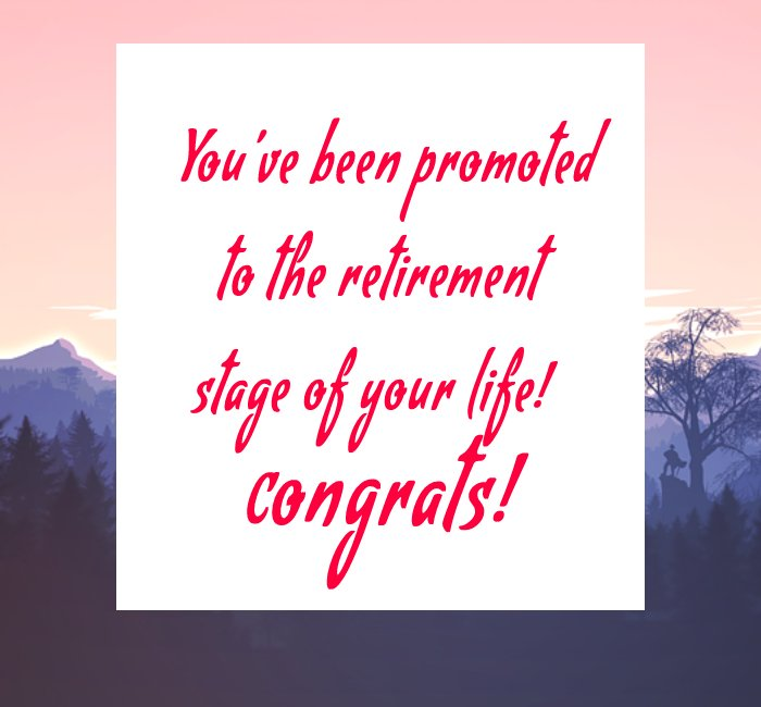 Heart Touching retirement messages