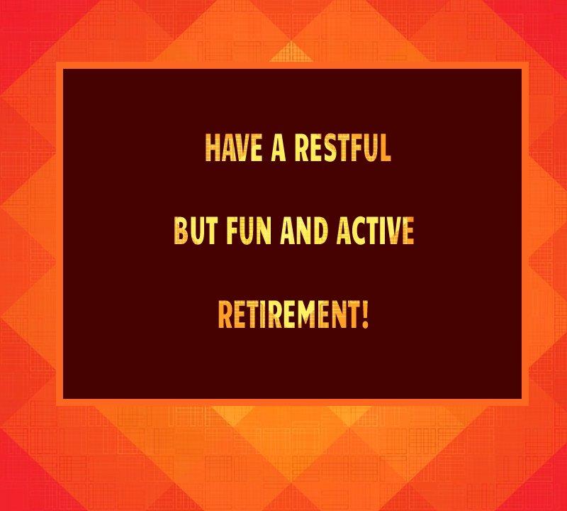 Amazing retirement messages