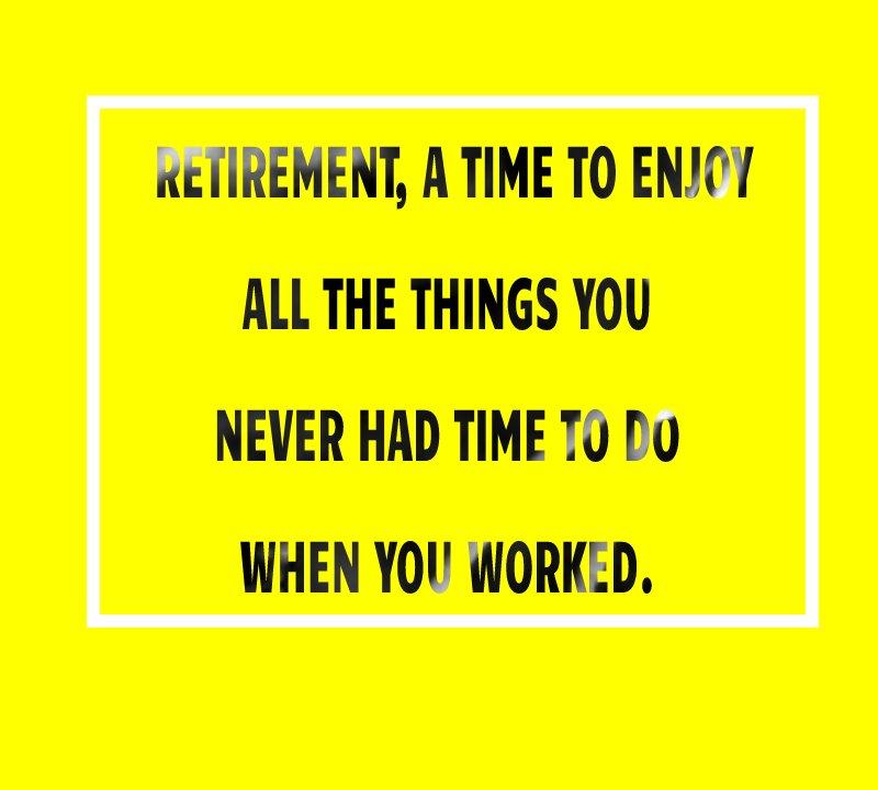 Unique retirement messages
