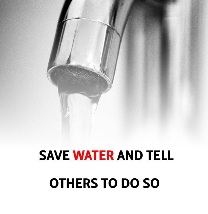 Best save water slogans