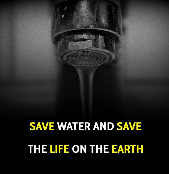 Short save water slogans