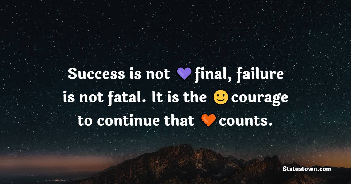 Unique success quotes