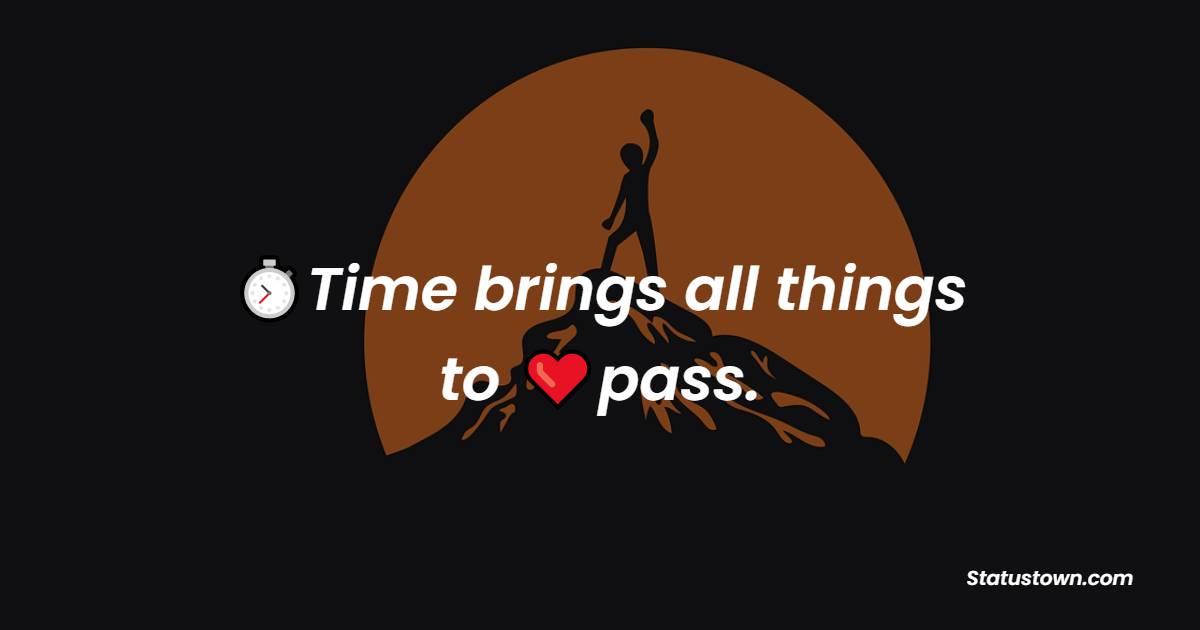Unique time quotes