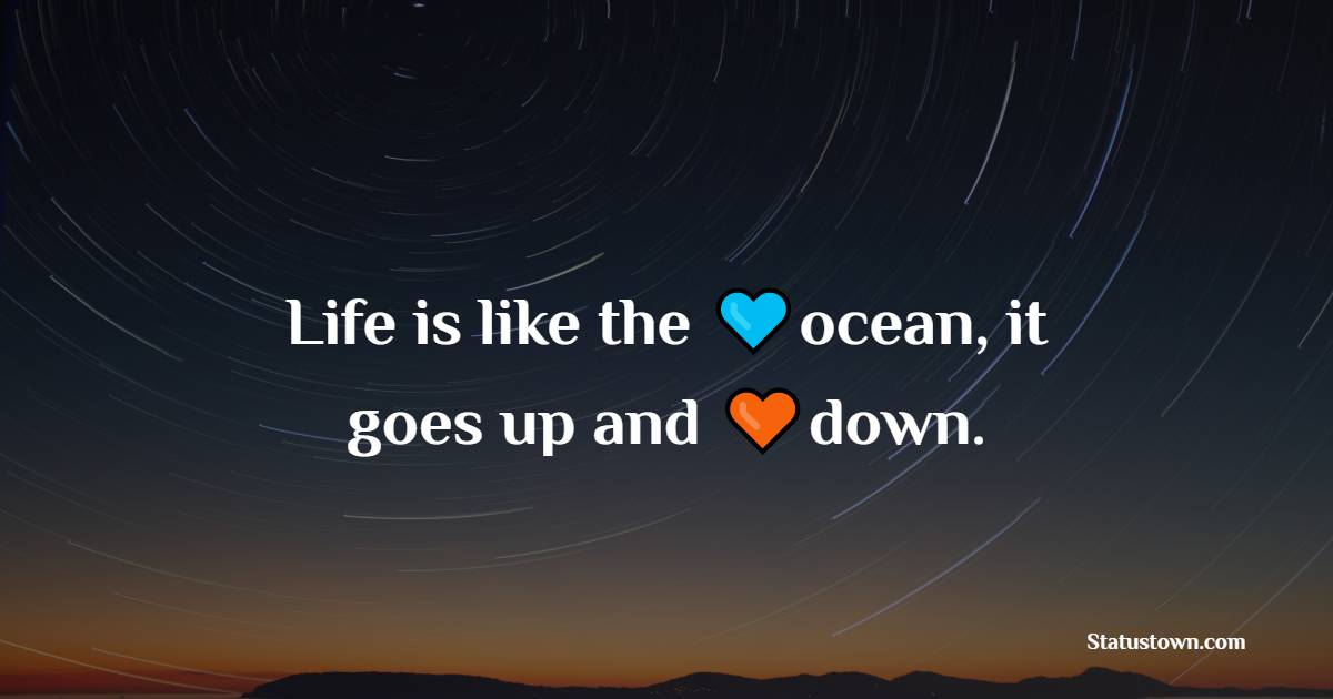 Heart Touching water quotes