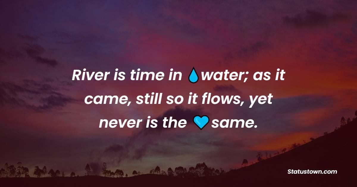 Unique water quotes