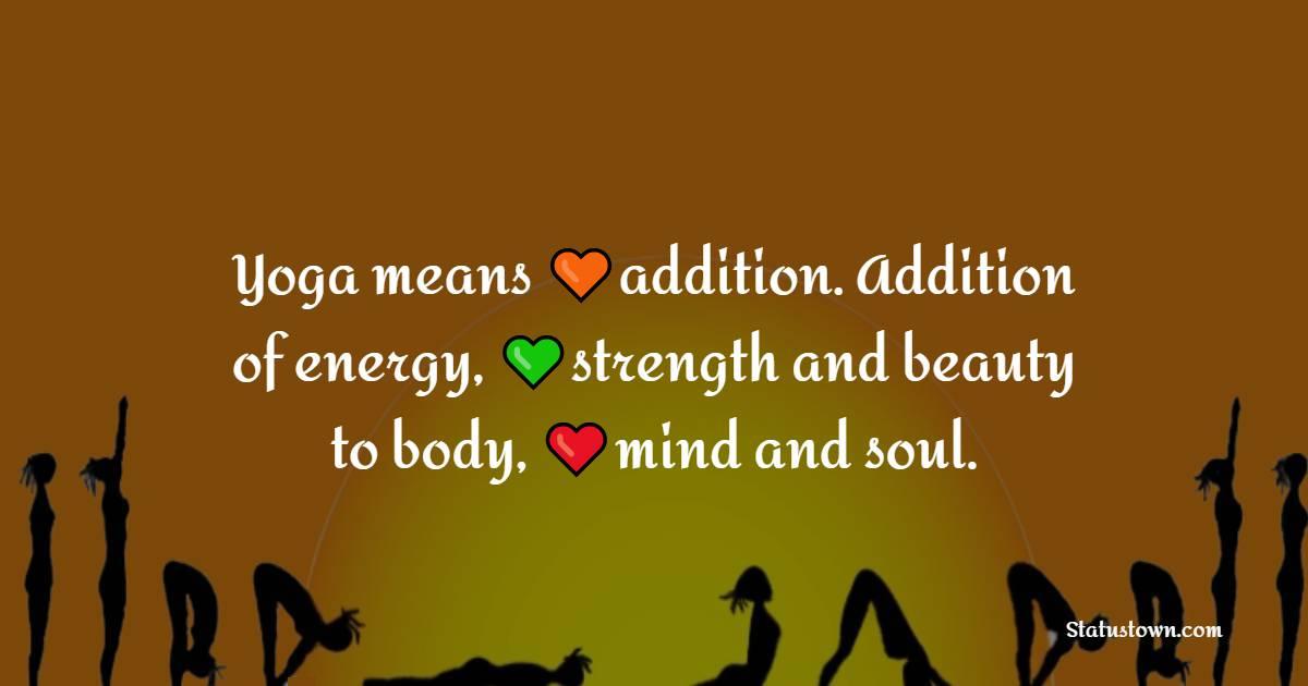 Amazing yoga quotes