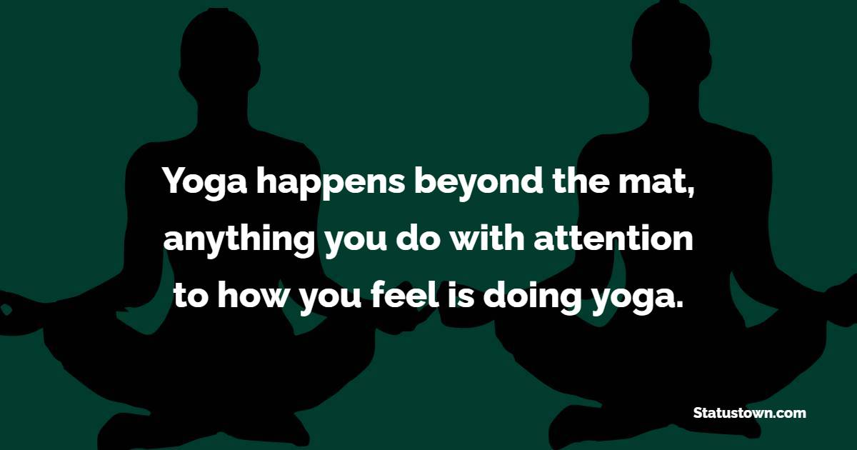 Best yoga quotes