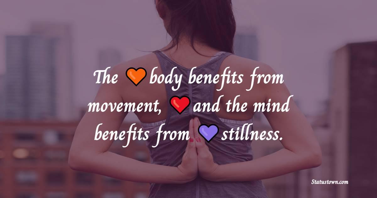 Simple yoga quotes