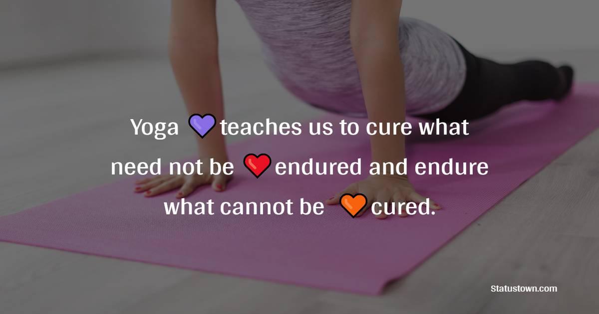 Short yoga quotes